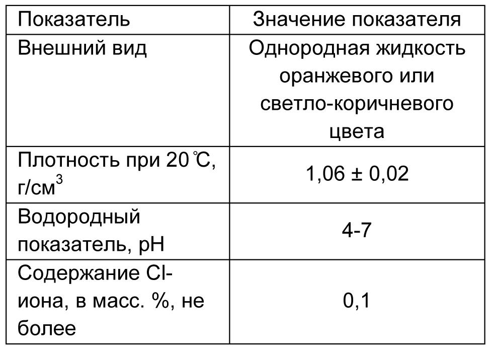 MasterGlenium ACE 430 табл 1