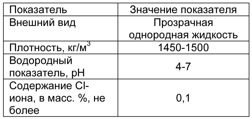 MasterPozzolith 501HE табл 2