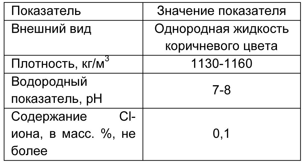 MasterPozzolith 42CF табл 2